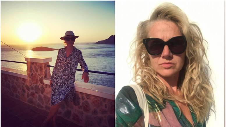 Barbara Kolar uživa u Grčkoj, fanove nasmijala s frizurom: 'Kokotica ili beach waves?'