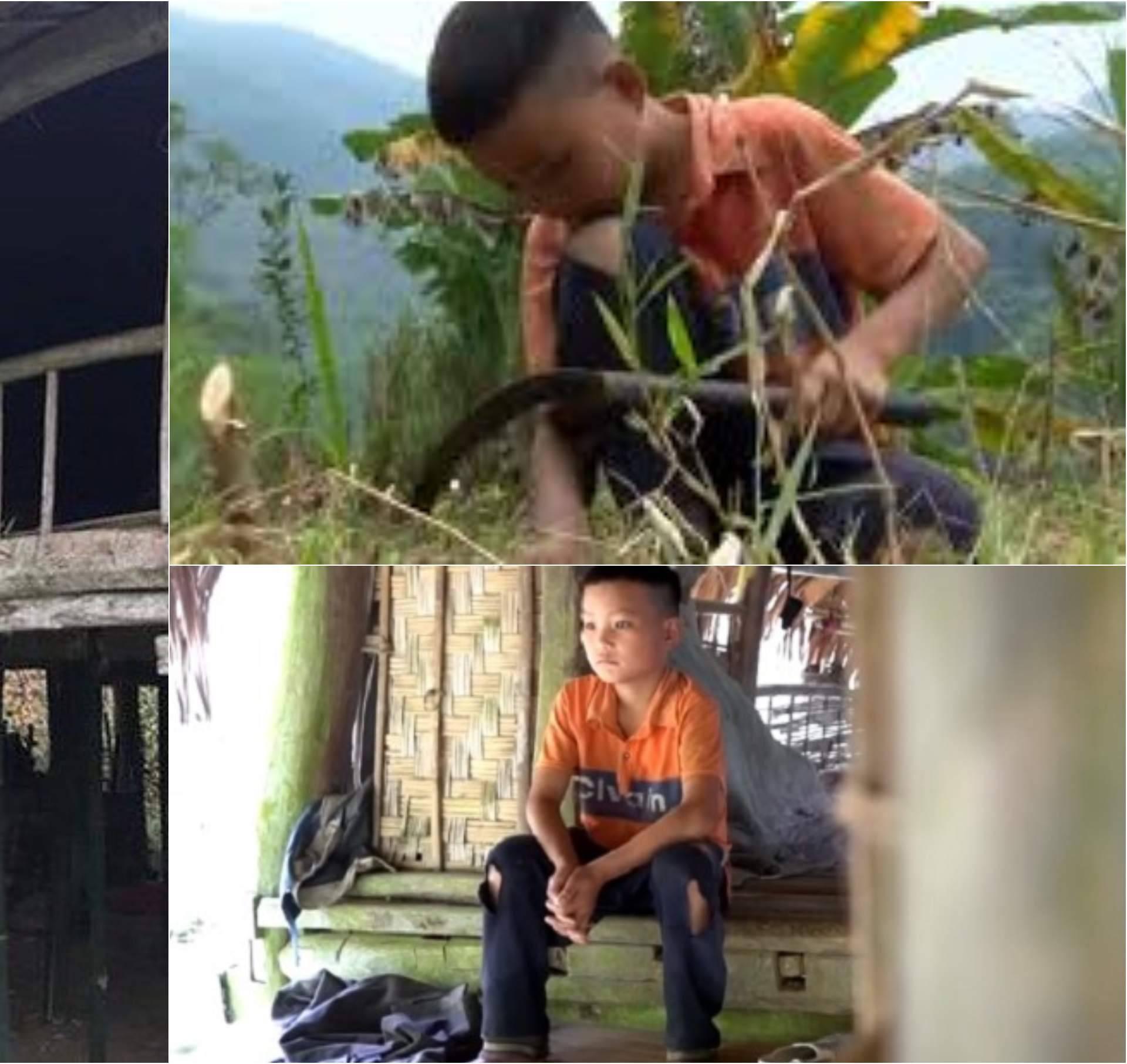 Dječaku (10) svi umrli: 'Radim na polju, mogu sam preživjeti'