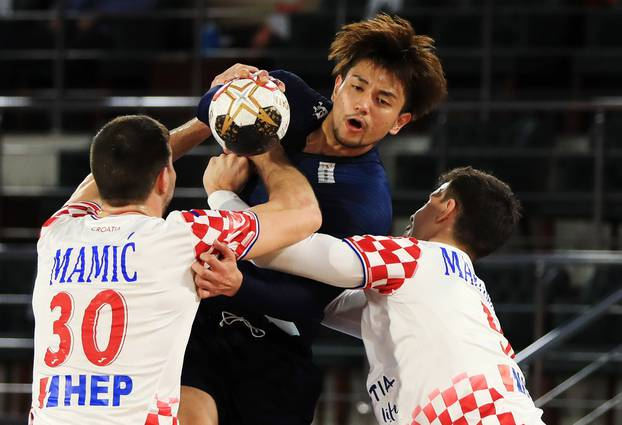2021 IHF Handball World Championship - Preliminary Round Group C - Croatia v Japan