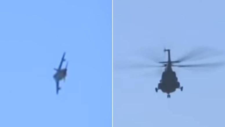 Pogledajte bliski susret srpskih bombardera i hrvatskog helikoptera na granici Kosova