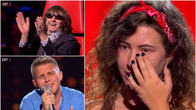 Bujica emocija u showu: 'Ja s 18 nisam znao pjevati kao ti'