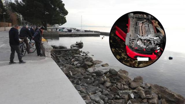 Tragedija u Kaštel Starom: 'Mladići su divljali autom pa sletjeli sa šetnice u more'