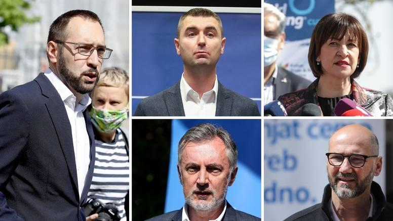 Utrka za Zagreb: Tomašević ima najveću potporu, u drugi krug idu ili Filipović ili Škoro