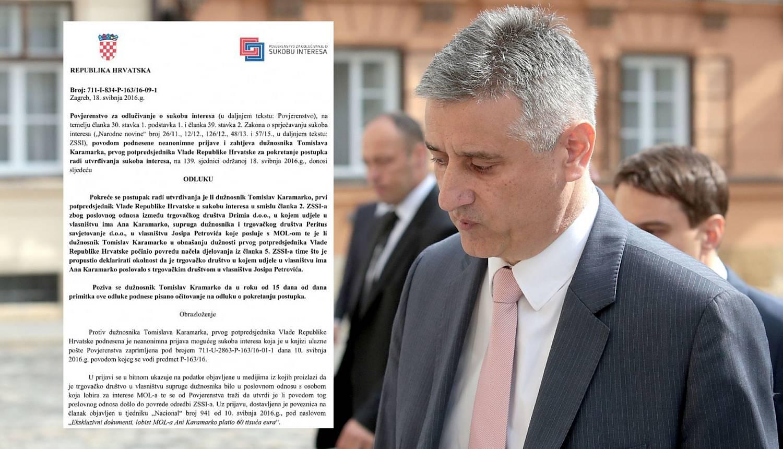 Objavili odluku o Karamarku:  Povjerenstvo želi ispitati ovo...