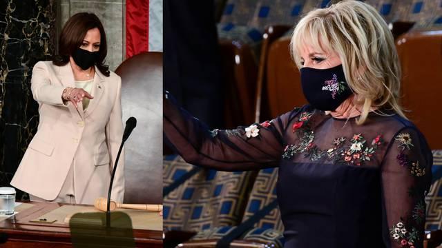 Harris i Jill Biden u Kongres stigle u kreacijama imigranata