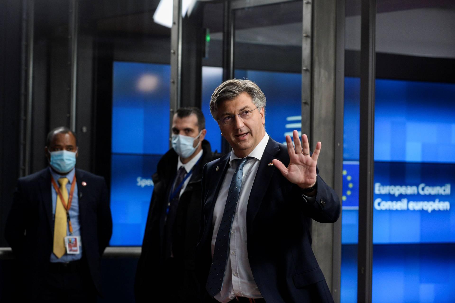 Plenković će o pregovorima u Bruxellesu govoriti ispred Vlade