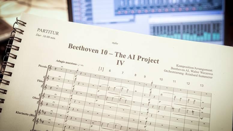 Uz pomoć umjetne inteligencije nakon dvije godine dovršili su  Beethovenovu 10. simfoniju