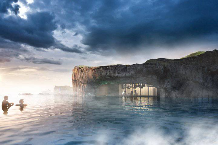 Otvaraju geotermalnu lagunu s barom i pogledom na ocean...