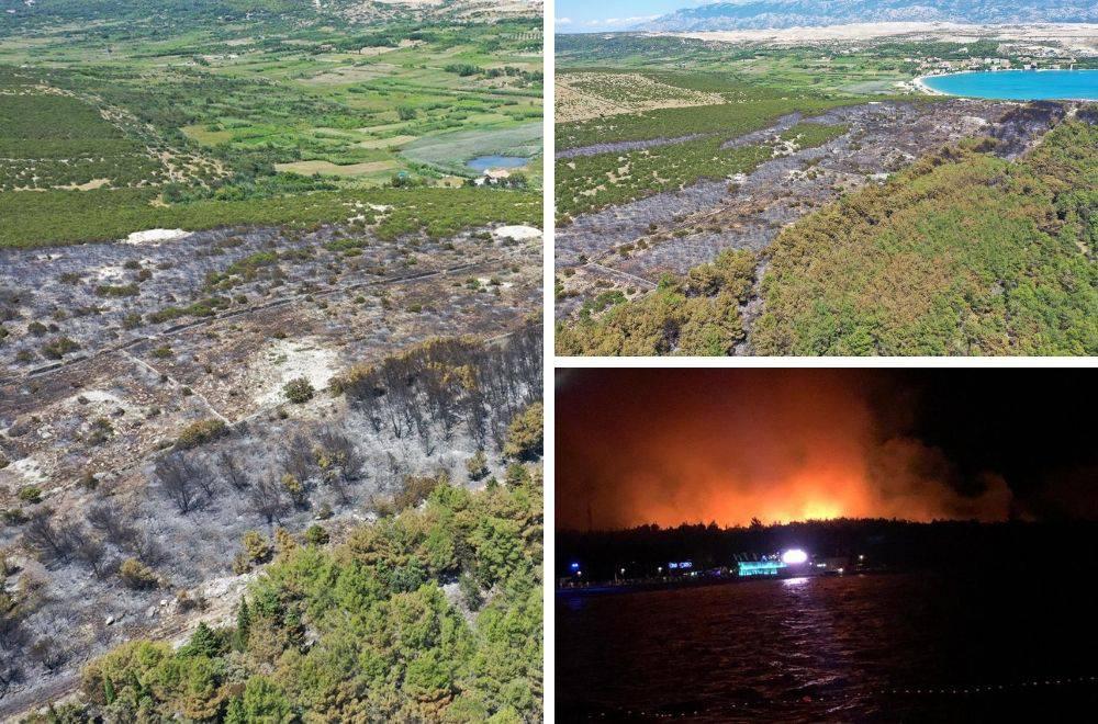 Gorjelo je cijelu noć: Pogledajte kako Zrće izgleda nakon požara
