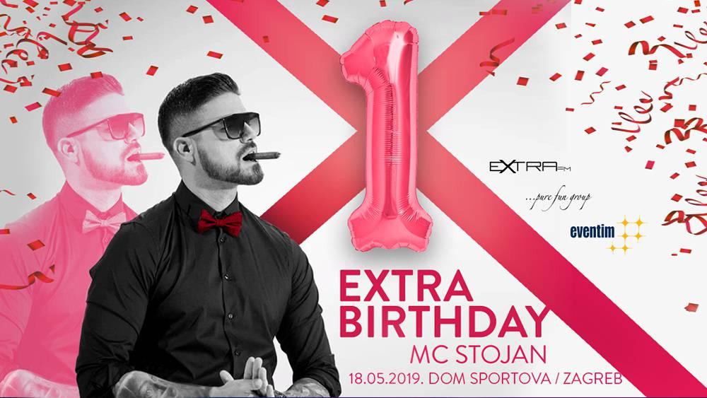 Kad Extra FM slavi, o tome se priča: MC Stojan u Zagrebu