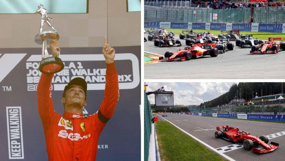 Leclerc izdominirao VN Belgije i prvi put pobijedio u karijeri