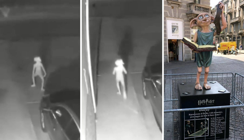 Kamera je snimila čudnog lika: 'Što li Dobby radi ispred kuće?'