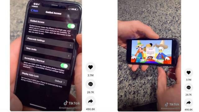 Tata otkrio iPhone trik za kojeg kaže da treba svakom roditelju