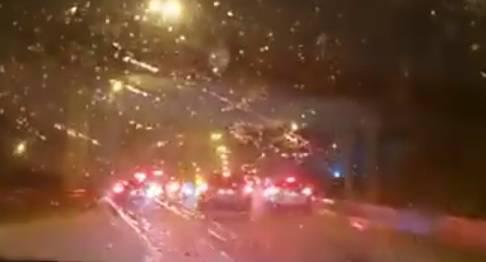 VIDEO Što je s vama?! Zbog tuče blokirali autocestu blizu Splita i sakrili se ispod nadvožnjaka