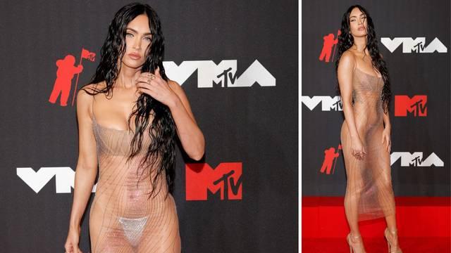 Megan Fox otkrila zašto je na dodjeli bila u prozirnoj haljini: 'Rekao mi je da ću biti gola...'