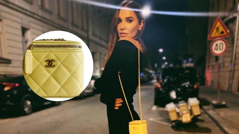 Tatjana pozirala na ulici, a svu pozornost 'ukrala' skupa torba