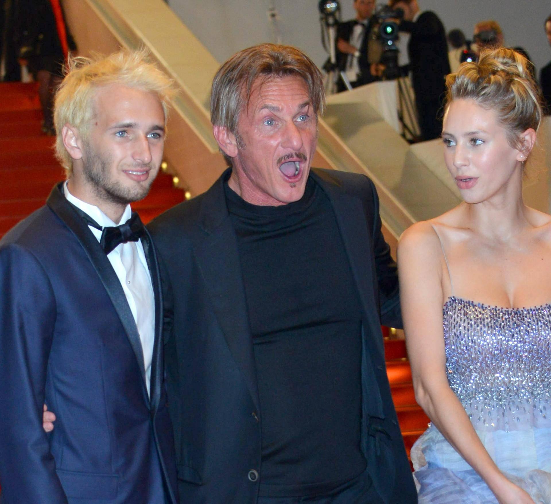 "69th Cannes Film Festival 2016, Exit Red Carpet film ""The Last Face""."