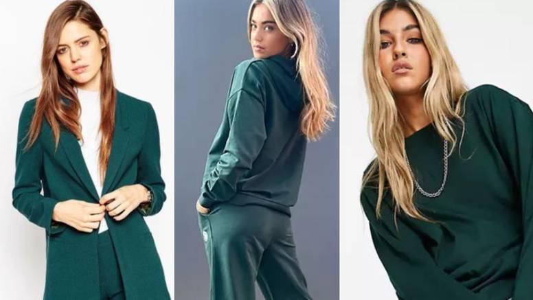 Zelena u svim tonovima: Kako je prirodna boja zavladala ključnim jesenskim stilovima