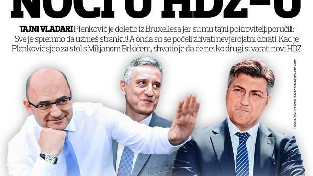 Dramatično u HDZ-u: Sve  tajne  brutalnog obračuna za stranku