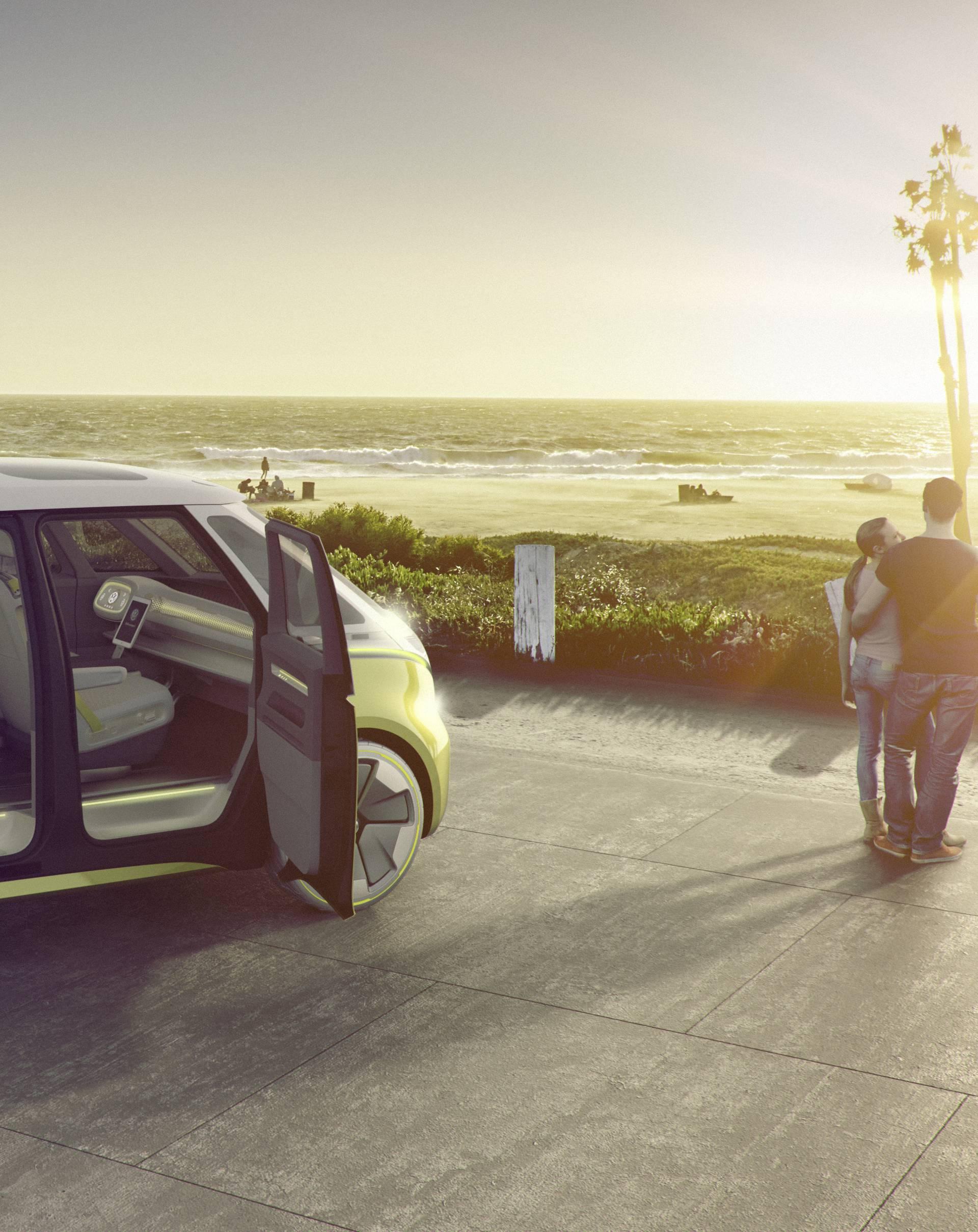 Volkswagenov pametni kombi znat će prepoznati svog vozača