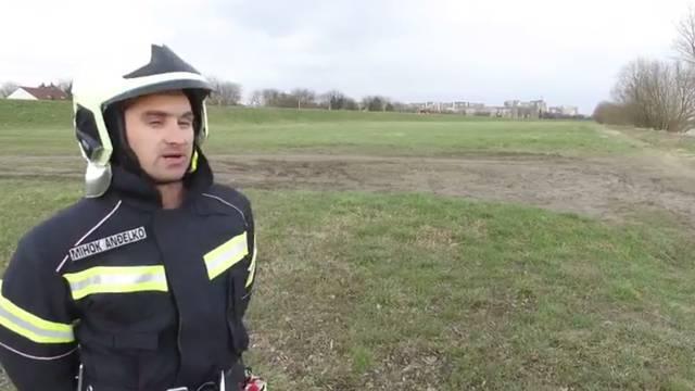 Zahvalna vlasnica: Vatrogasci su psa Srećka spašvali iz Save