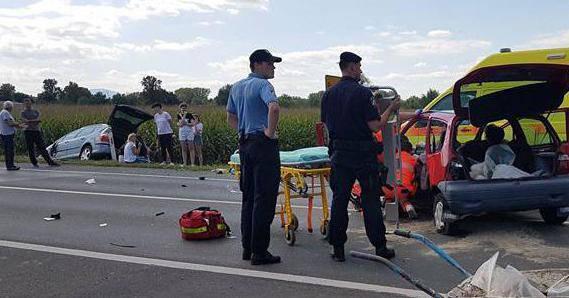 Stravična prometna nesreća u Međimurju: Šestero ozlijeđenih