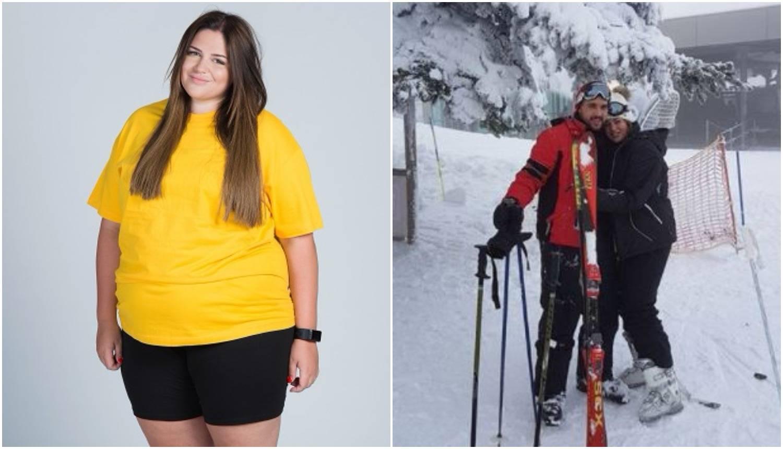 Lucija iz 'Života na vagi' skija s dečkom: Još 25 kila manje...