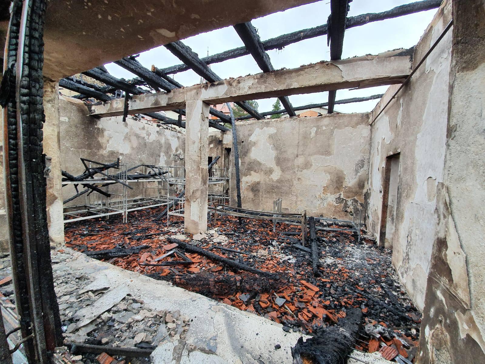Požar gasili šest sati: 'Dvorana je izgorjela skoro do temelja'