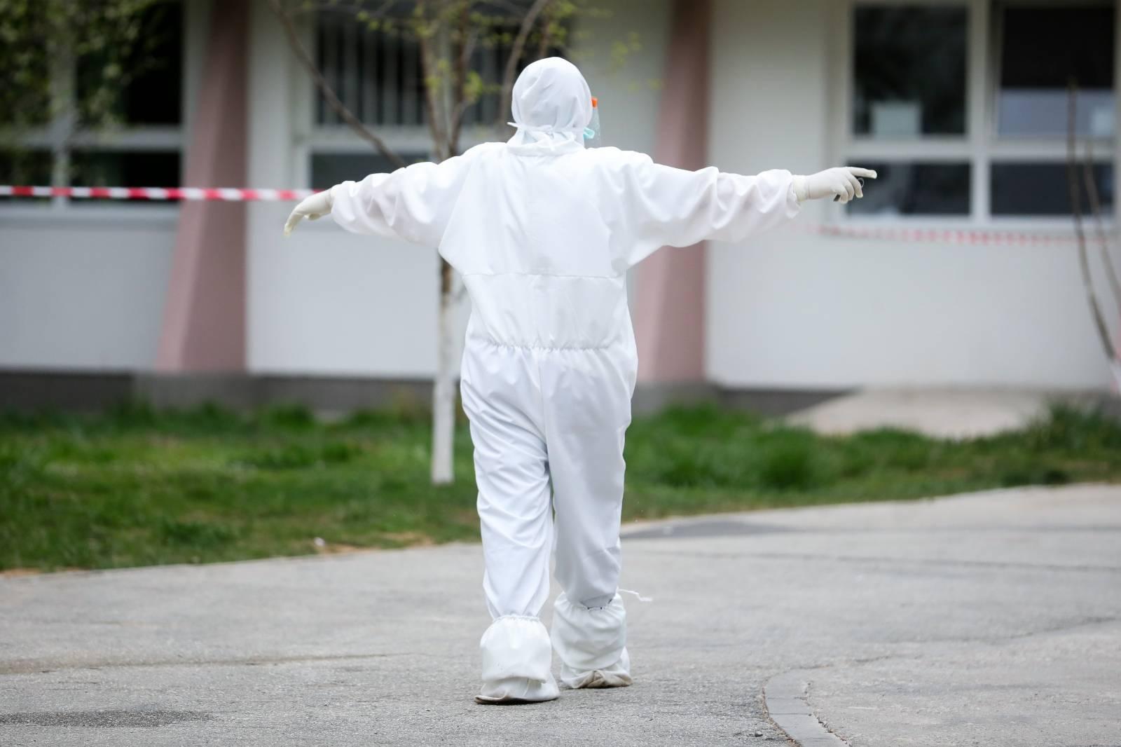 Sarajevo: Testiranje radnika Gerontološkog centra na koronavirus
