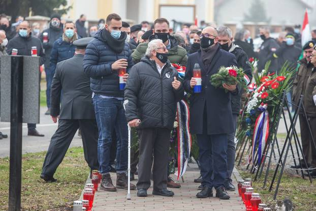 29. godišnjica sjećanja na poginule i umrle hrvatske branitelje i civile Laslova