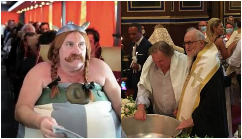 Krstio se Obelix: Depardieu se odrekao Sotone, presretan je