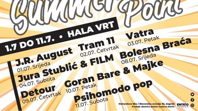 Hala predstavlja seriju koncerata: Goran Bare & Majke, Jura Stublić, J.R. August...