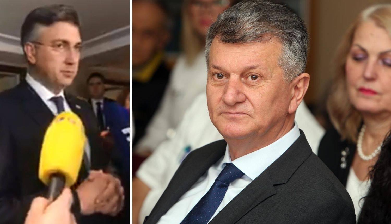 Plenki je razriješio Kujundžića: 'Ne želim da opterećuje Vladu'