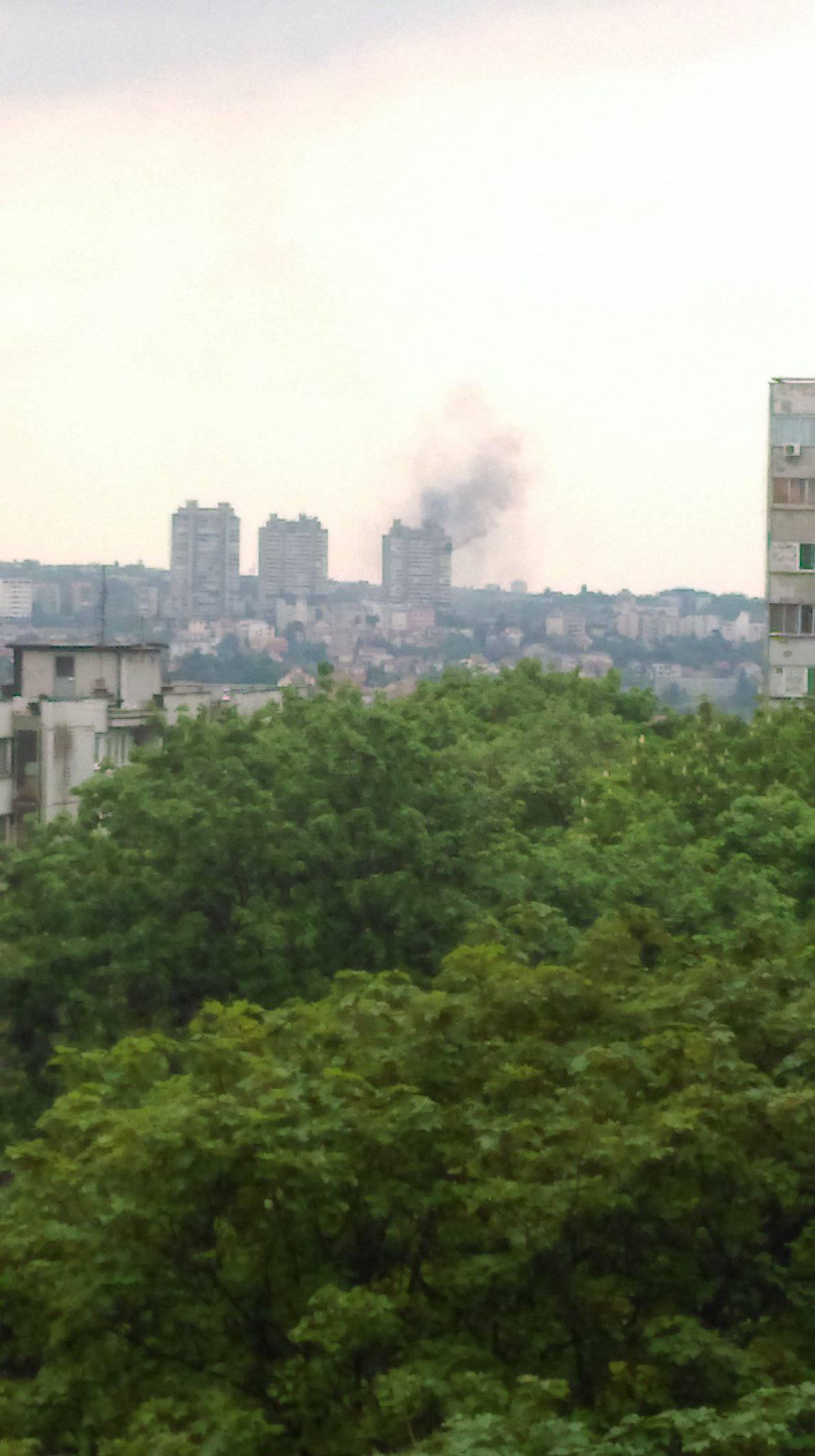 Gorio neboder u Beogradu: U stanu na 17. katu našli tijelo