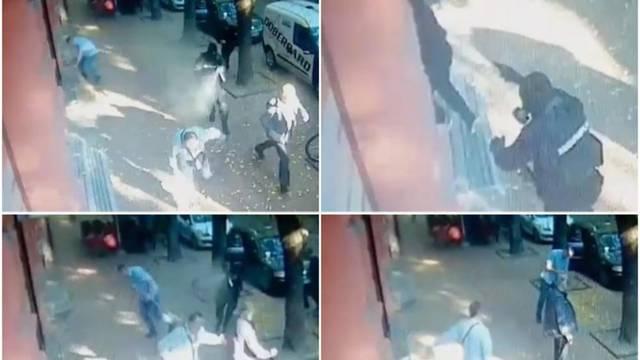 Šokantna snimka: Pucali pred bankom i otišli s milijun eura!