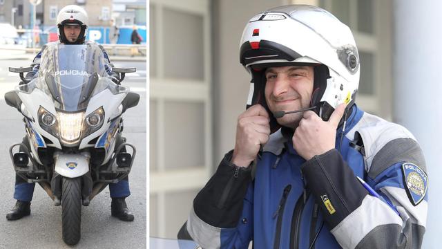 Josip je najspretniji policajac na motoru, a zna i s tamburom