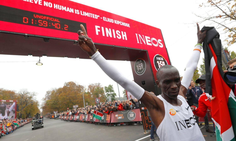 Za povijest: Kipchoge je prvi  pretrčao maraton ispod 2 sata