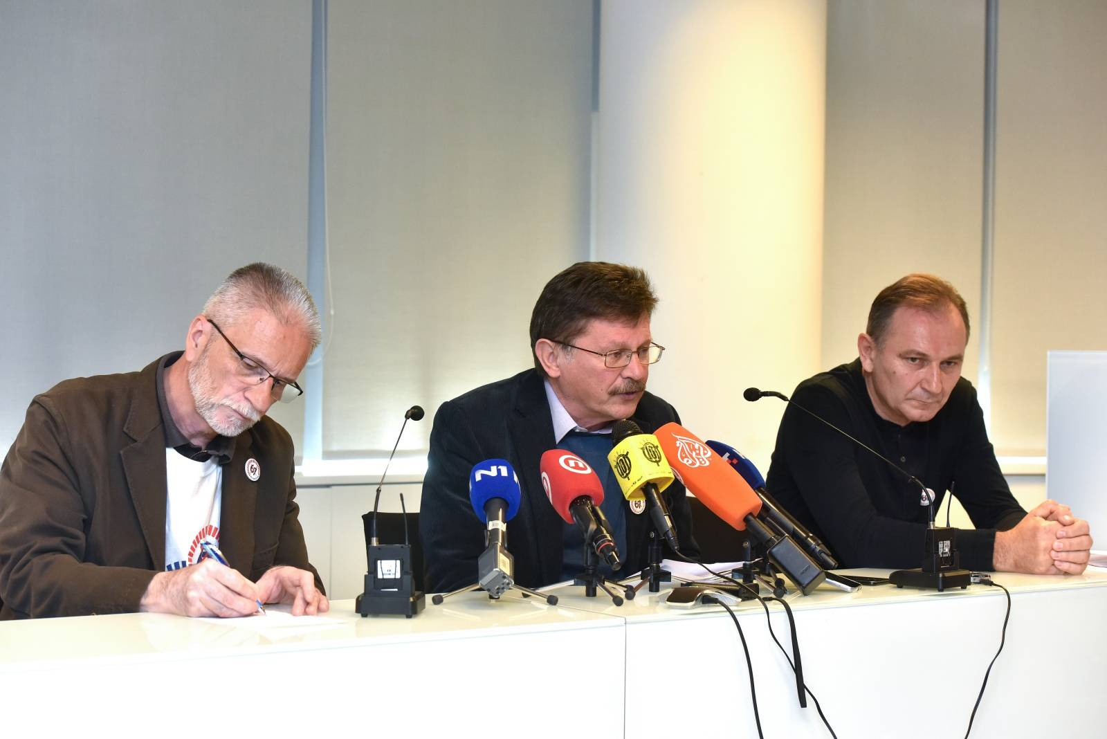 Zagreb: Konferencija za medije čelnika sindikalnih središnjica