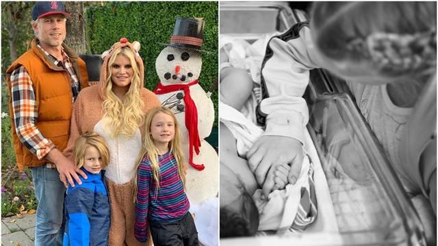 Jessica Simpson rodila treće dijete: Dobro nam došla Birdie