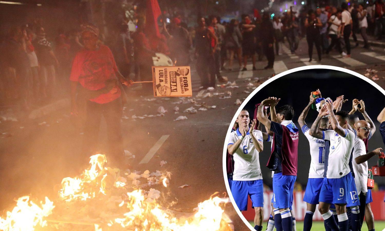 Kaos u Brazilu uoči otvaranja Cope! Milijuni ljudi na ulicama