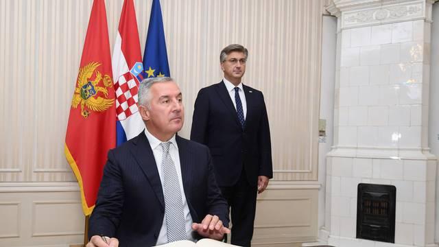 'Hrvatska podupire suverenost i neovisnost Crne Gore i njezin put prema Europskoj Uniji'
