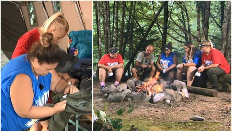 Kandidati su završili u šumi, a Maca krala odjeću po šatorima