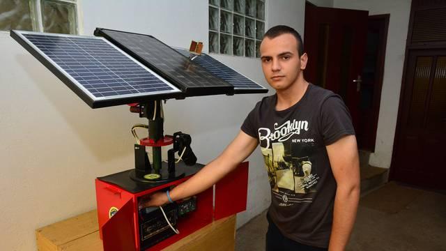 Učenik inovator (17): Uz moj Solarinator uvijek imate struju