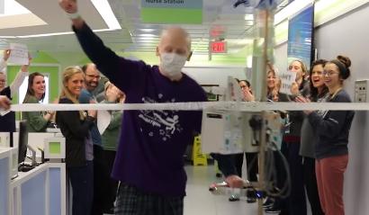 Zadnji dan kemoterapije Joey (13) prohodao 42 km maratona