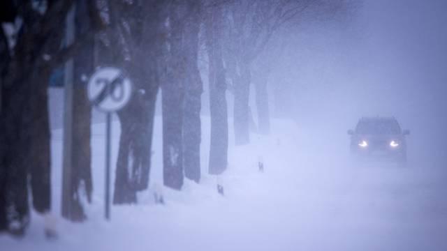 Winter weather - Mecklenburg-Western Pomerania