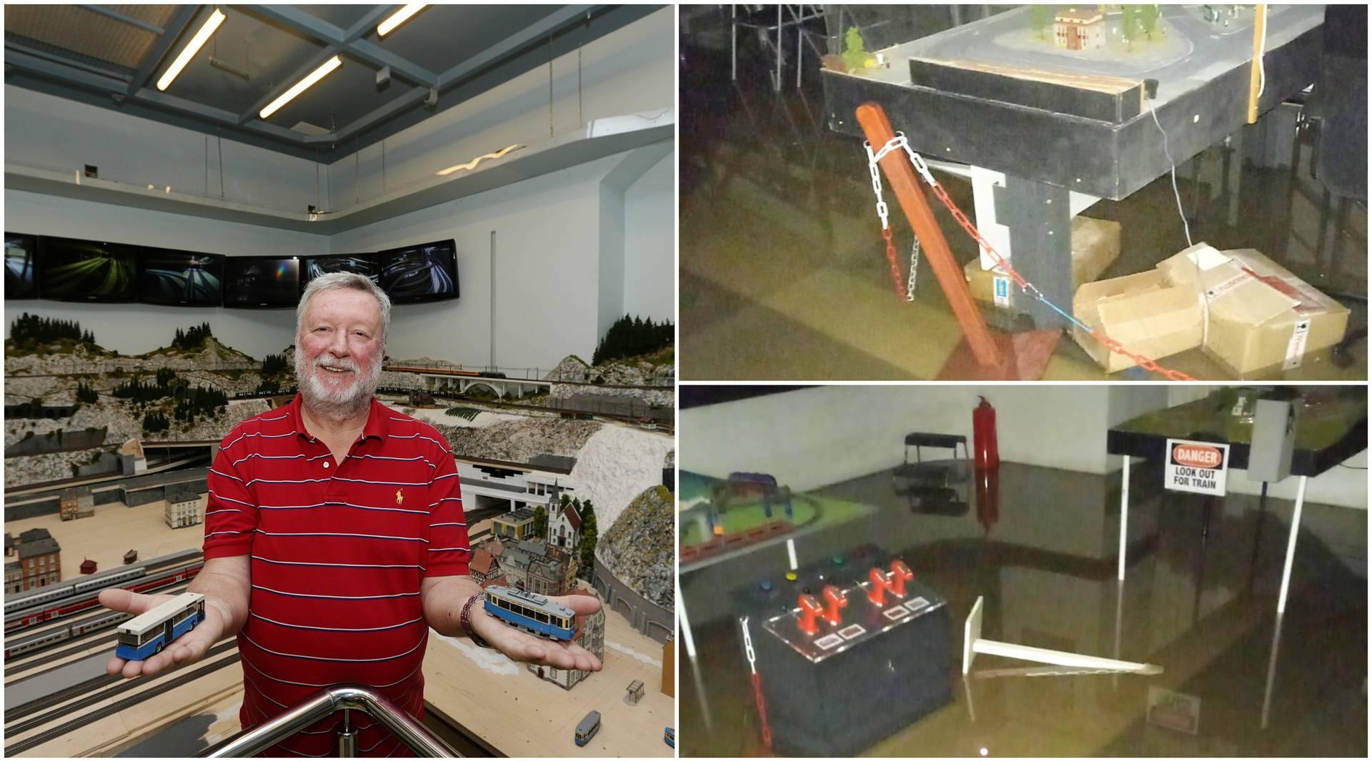 Omiljeni zagrebački muzej jako stradao u poplavi: 'Šokirao sam se, makete su plivale u vodi...'