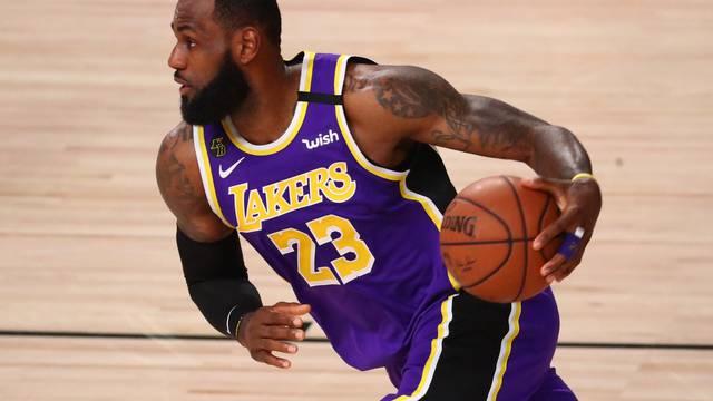 NBA: Playoffs-Denver Nuggets at Los Angeles Lakers