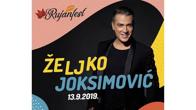 Miljenik publike, Željko Joksimović, otvara Rujanfest