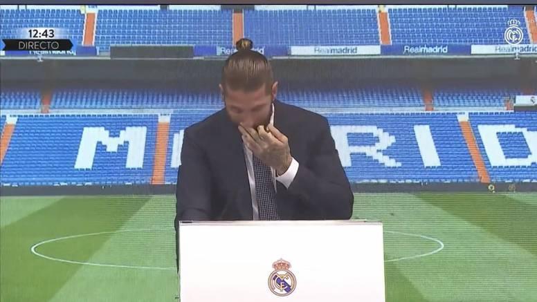 Sergio Ramos rasplakao se na oproštaju od Reala: To je jedan od najtežih trenutaka u životu