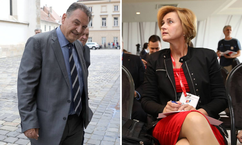 Čačić 'popljuvao' Švaljek: Mala Sandra, došla žena, pala s neba